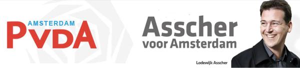 pvda amsterdam gemeenteraad campagne 2010 lodewijk asscher banner