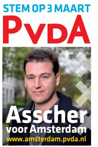 pvda amsterdam campagne poster