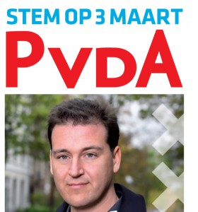 pvda amsterdam campagne poster